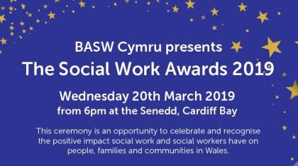 BASW Cymru presents The Social Work Awards 2019