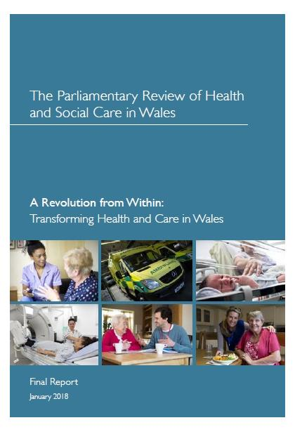 Welsh Government publishes the Parliamentary Review of Health and Social Care in Wales