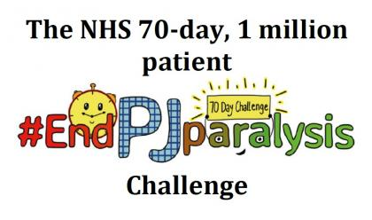 The NHS 70-day, 1 million patient #EndPJParalysis Challenge - Everything You Need to Know