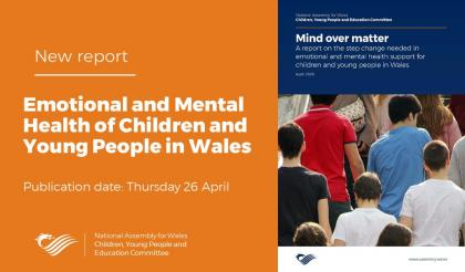 ADSS Cymru response to National Assembly report on step change needed in emotional and mental health support for children and young people in Wales